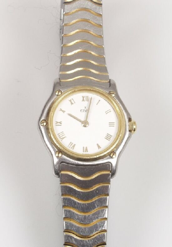 2018: EBEL - a lady's 18ct gold and steel Spo