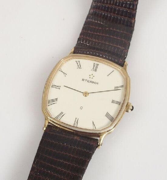 2020: Eterna - gentleman's gold plated strap