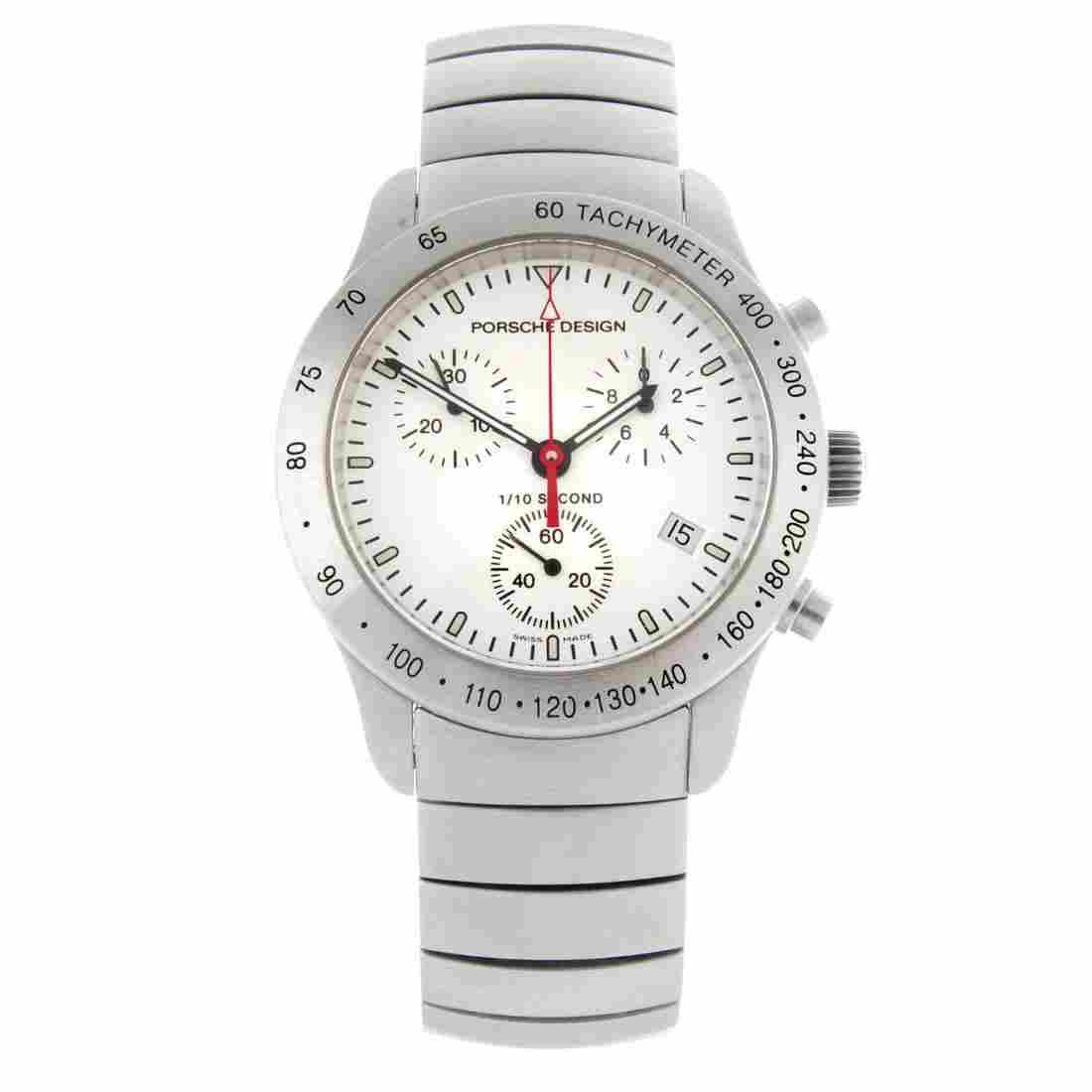 PORSCHE DESIGN - a gentleman's chronograph bracelet