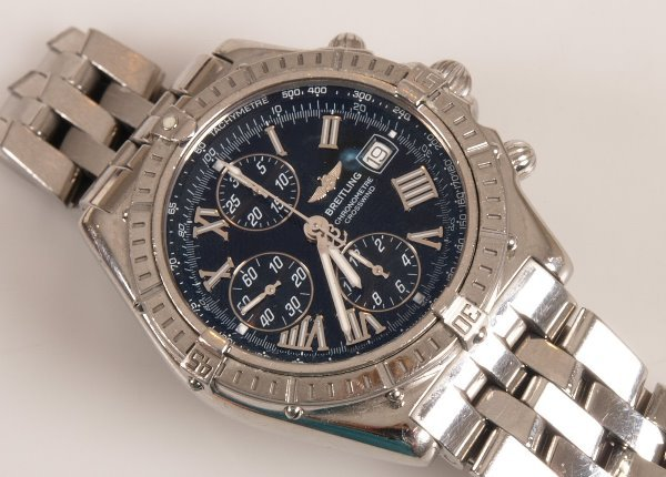 2004: BREITLING - a gentleman's recent chronometer Cros