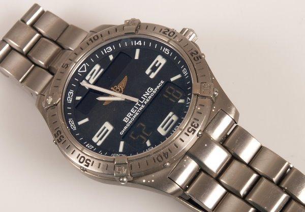 2005: BREITLING - a gentleman's titanium Aerospace with
