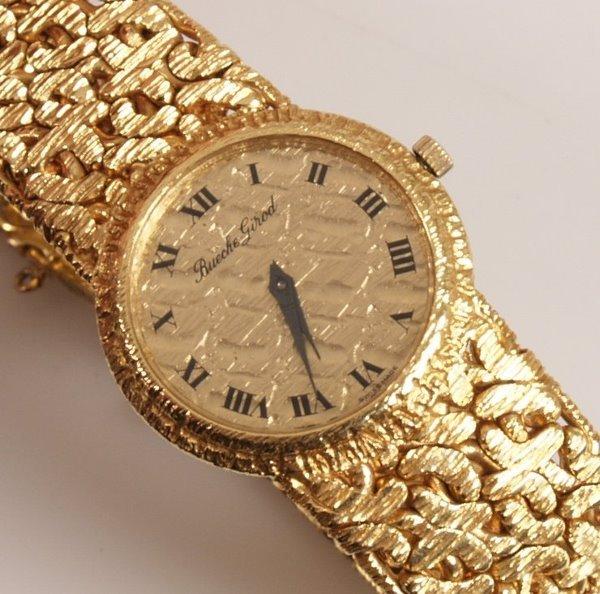 2006: BEUCHE GIROD - 18ct gold ladies manual wrist watc
