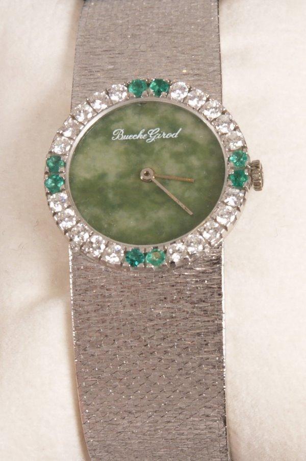 2010: BUECHE GIROD - an 18ct white gold dress watch wit