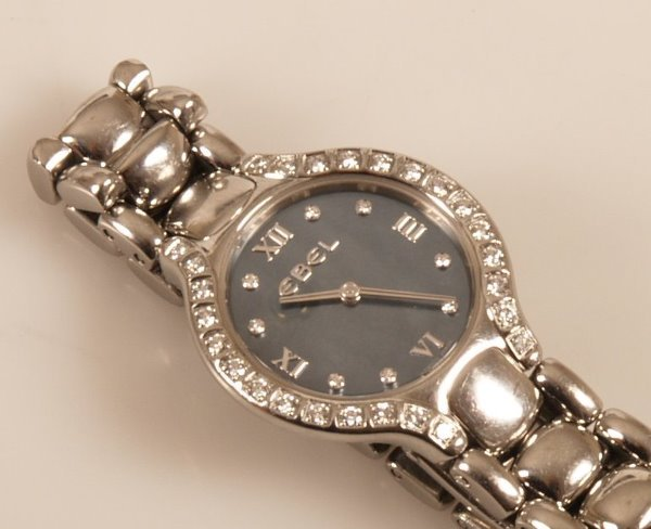 2020: EBEL - a ladies stainless steel quartz operated B