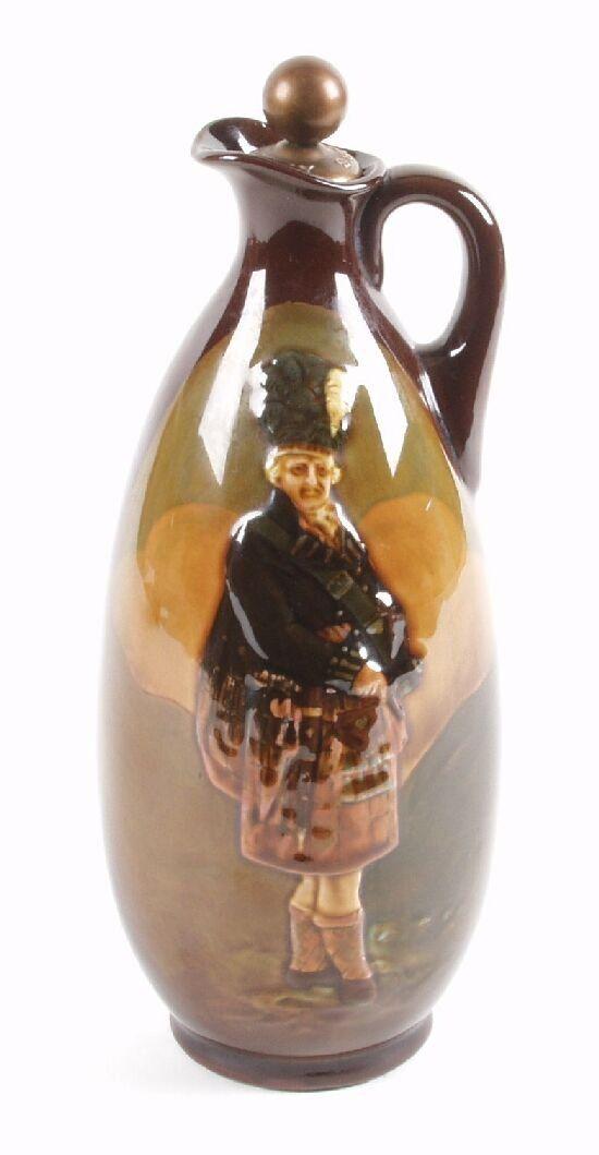 A Royal Doulton Kingsware Dewar's whisky