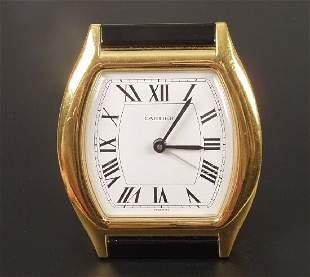 CARTIER - a novelty alarm clock modelle