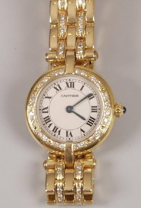 2017: CARTIER - a lady's all 18ct yellow gold