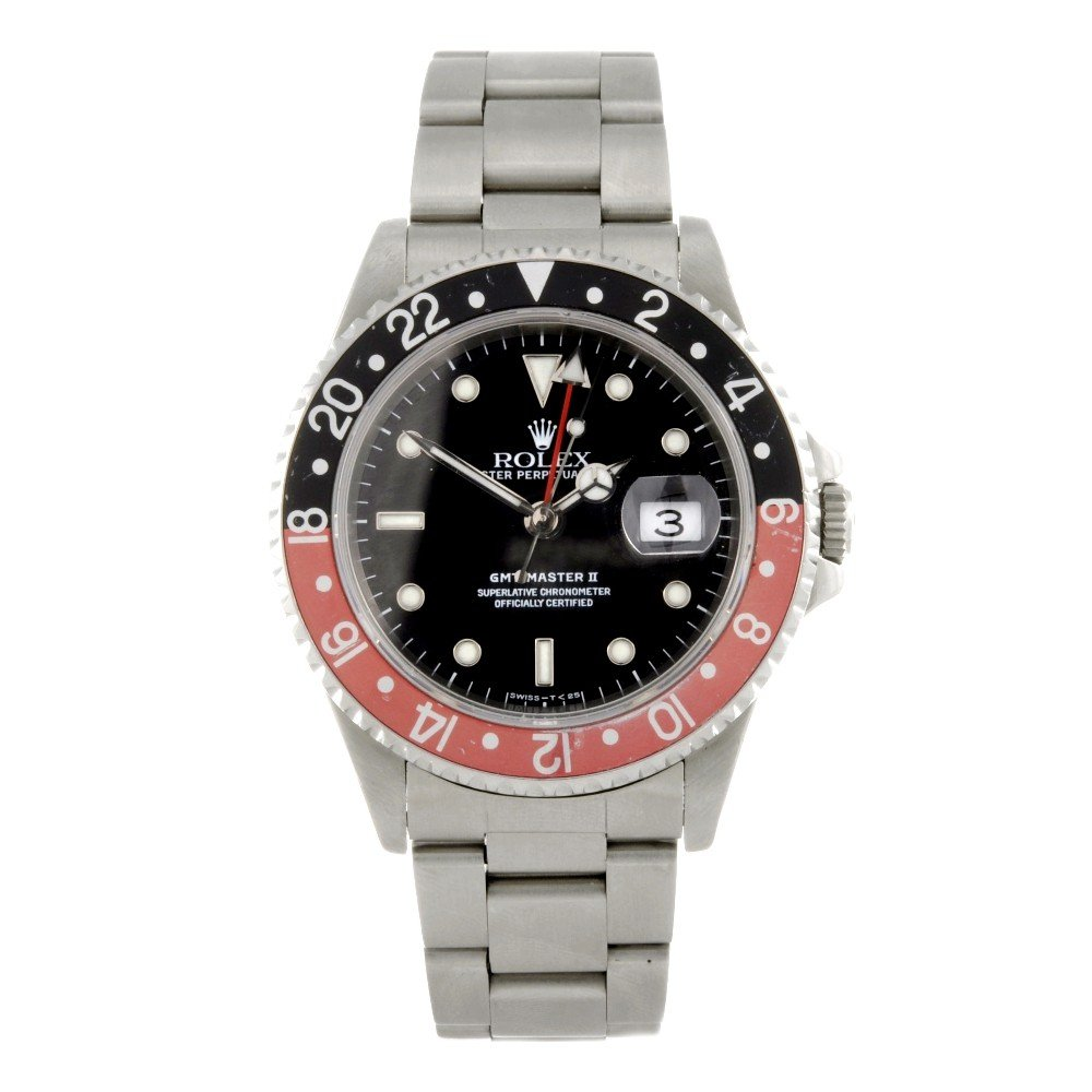 164: ROLEX - a stainless steel automatic gentleman's Oy