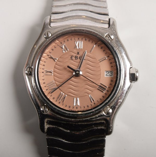 3022:  EBEL - a ladies stainless steel Classic Wave Min