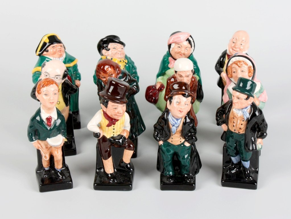 31: Twelve Royal Doulton 'Dickens' character figures.