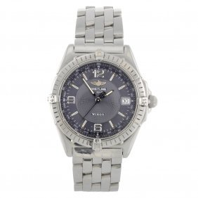 A Stainless Steel Automatic Gentleman's Breitling W