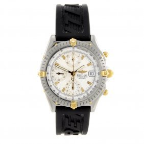 18: A bi-metal automatic gentleman's Breitling Chronoma