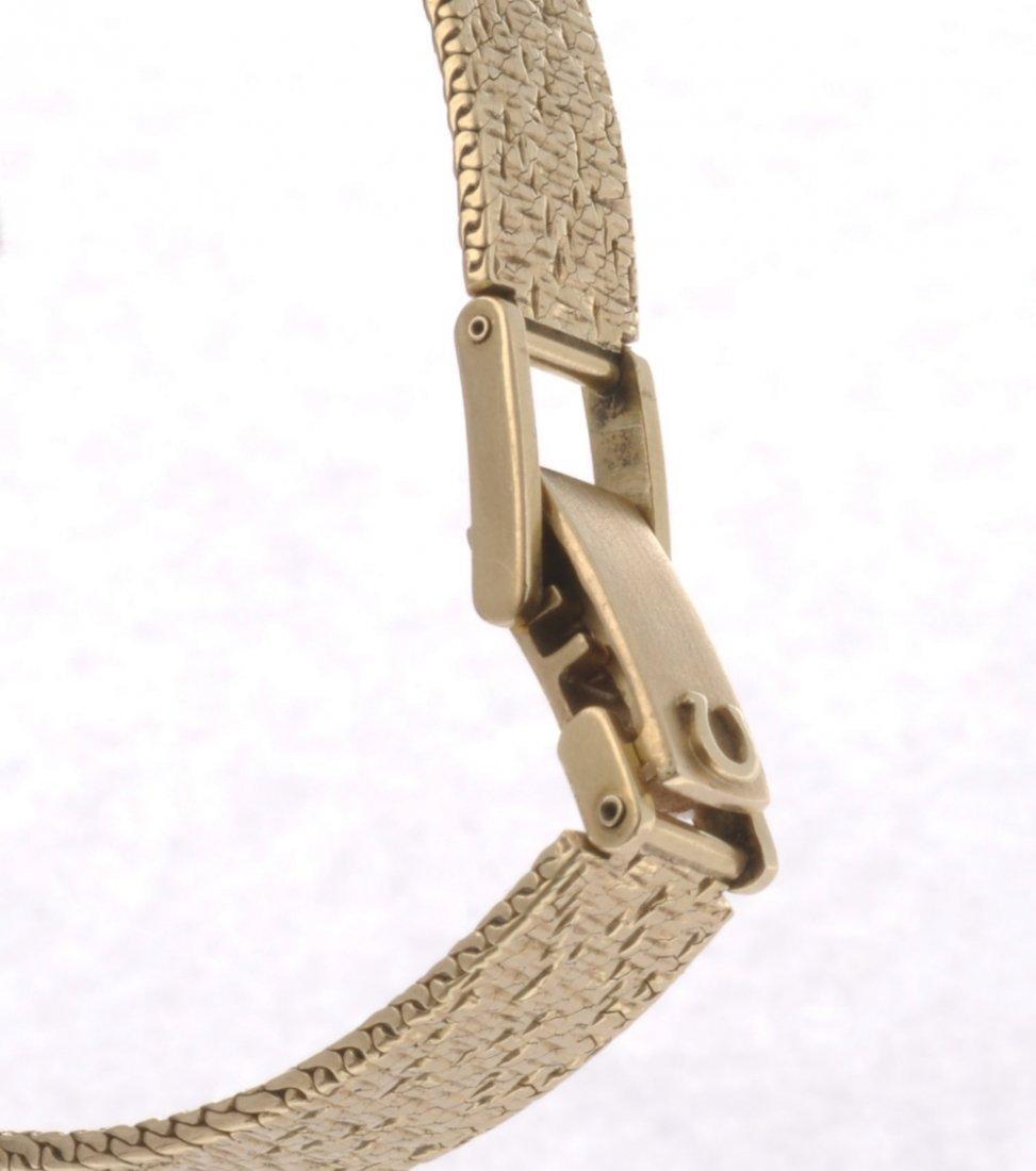 46: A 9ct gold manual wind lady's Omega De Ville bracel - 3