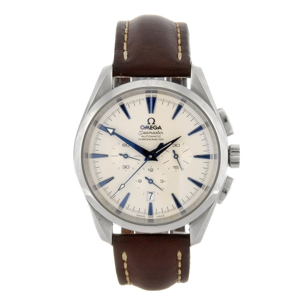 50: (84375) A stainless steel automatic gentleman's Ome