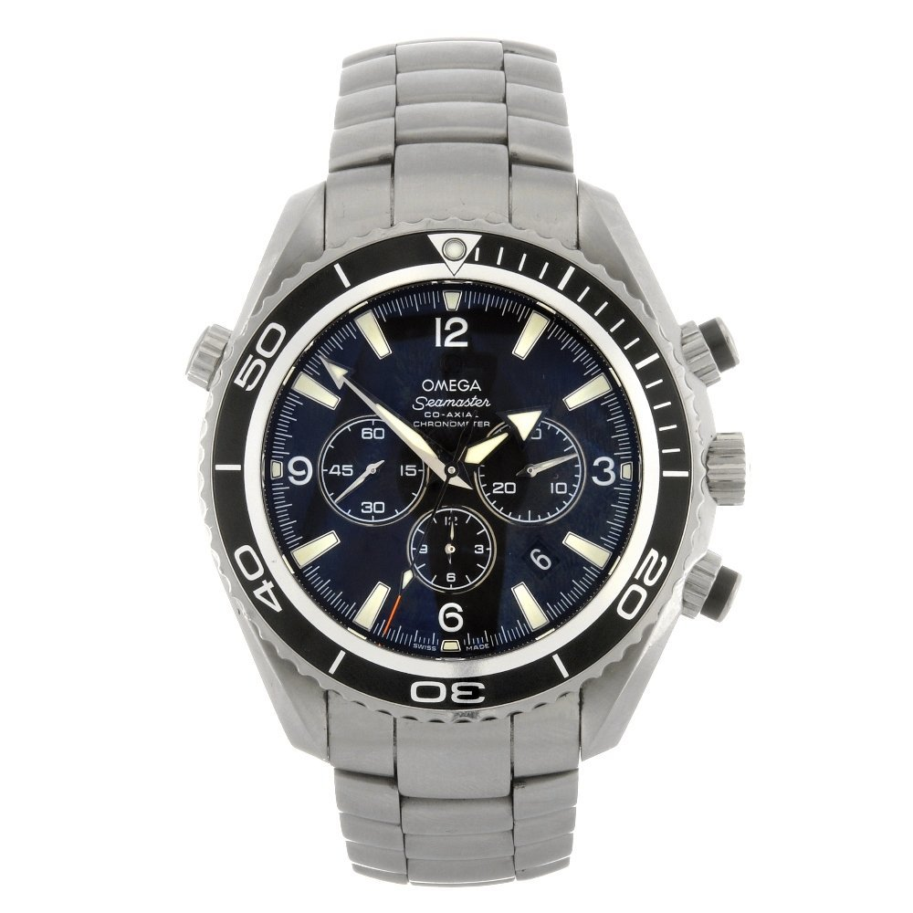 51: (84532) A stainless steel automatic gentleman's Ome