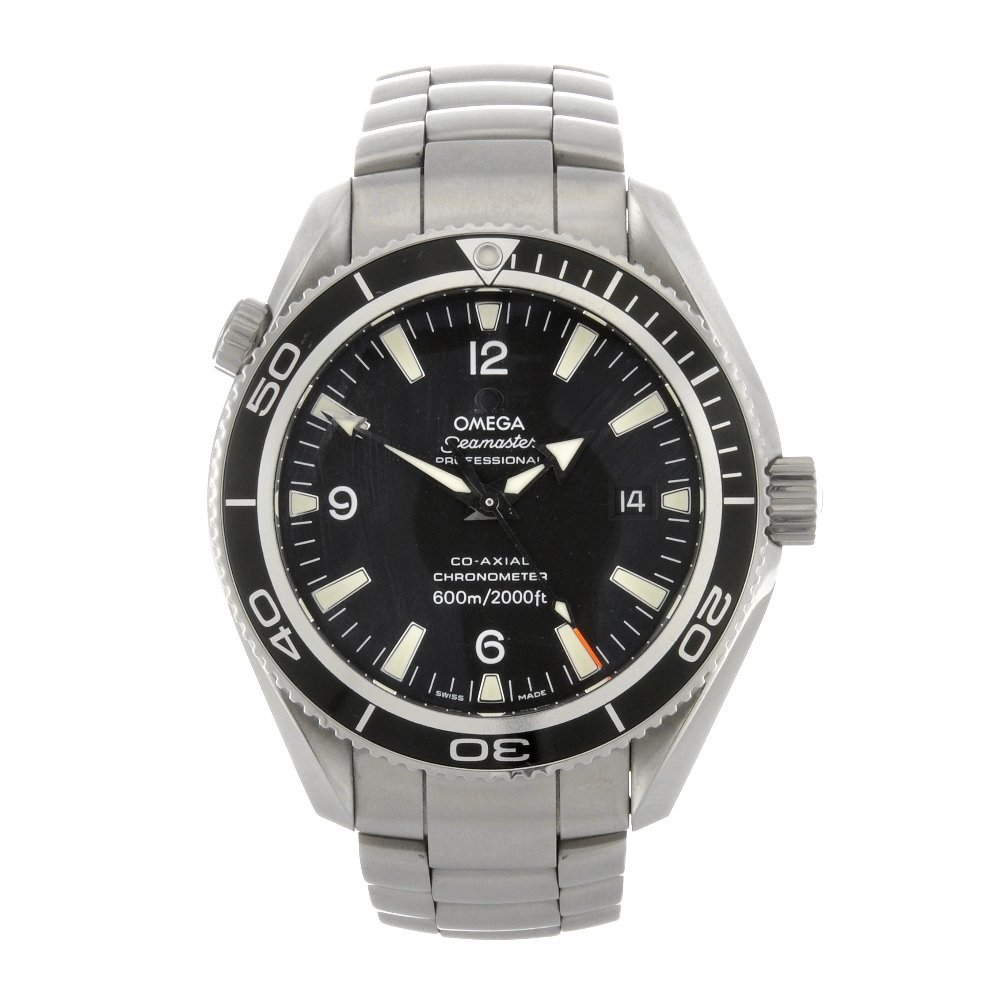 54: (85142) A stainless steel automatic gentleman's Ome