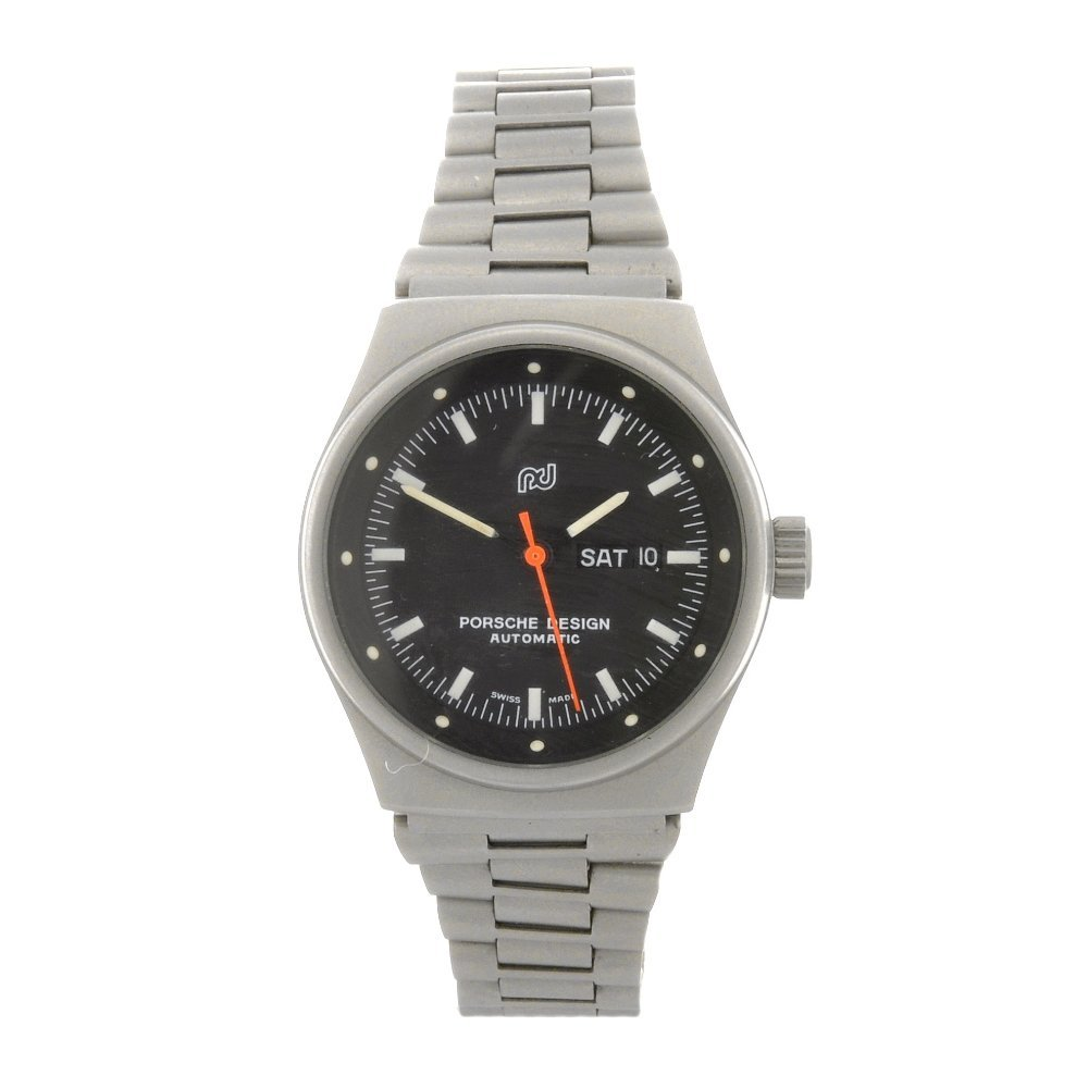 67: A stainless steel automatic lady's Porsche Design b