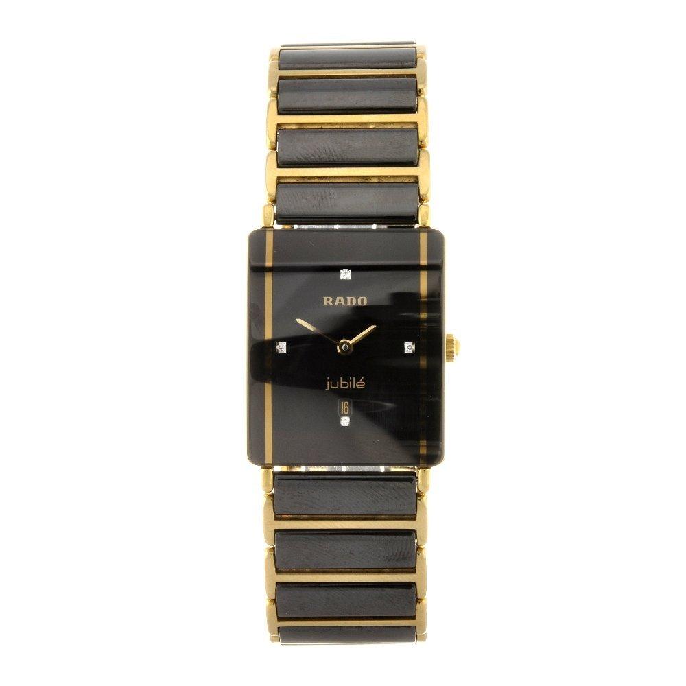 68: A ceramic quartz gentleman's Rado Integral bracelet