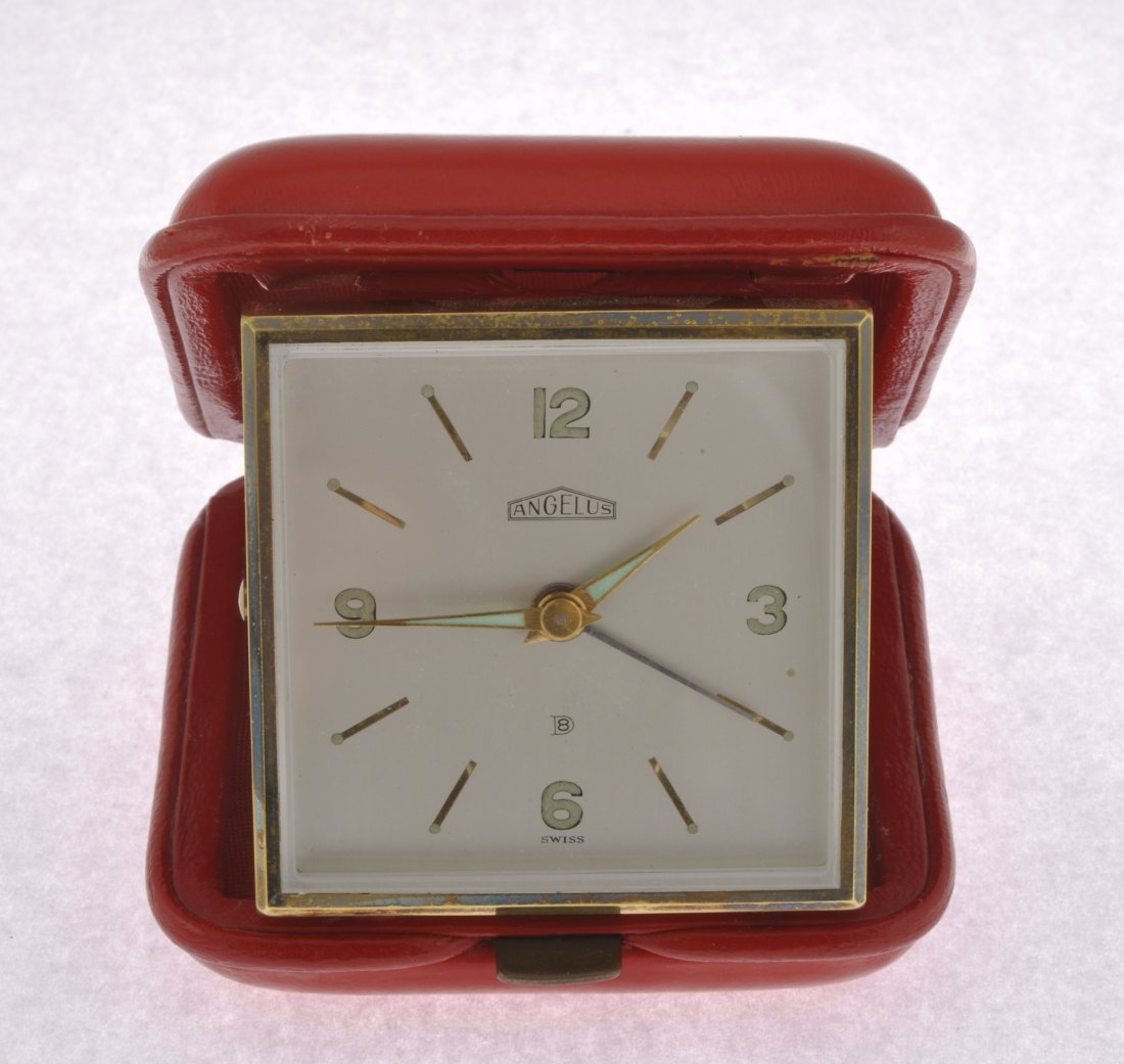 265: A small group of seven alarm clocks. - 3