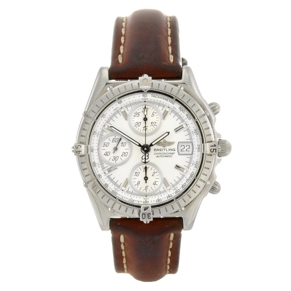 6: (85643) A stainless steel automatic chronograph gent