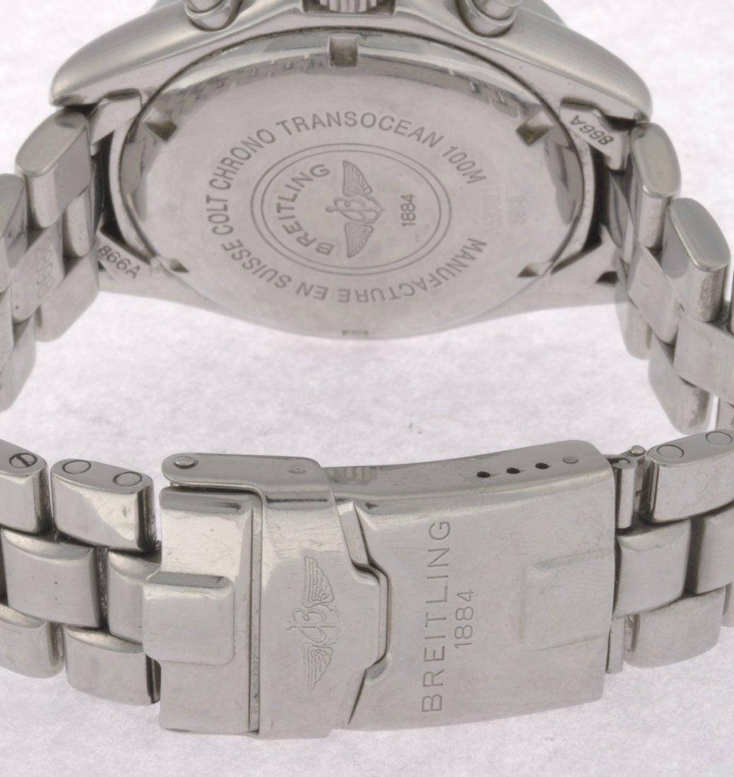 9: (904002252) A stainless steel quartz gentleman's Bre - 4