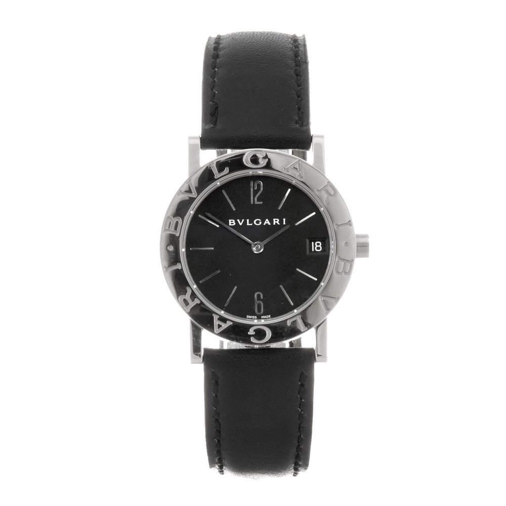 11: A stainless steel quartz lady's Bulgari Bulgari wri