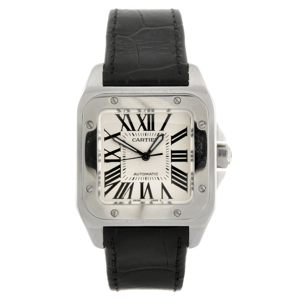 18: (131138610) A stainless steel automatic gentleman's