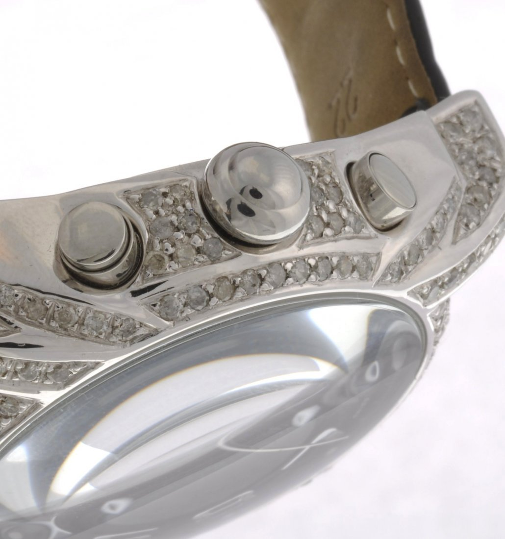 188: A stainless steel quartz gentleman's AquaMarin bra - 3