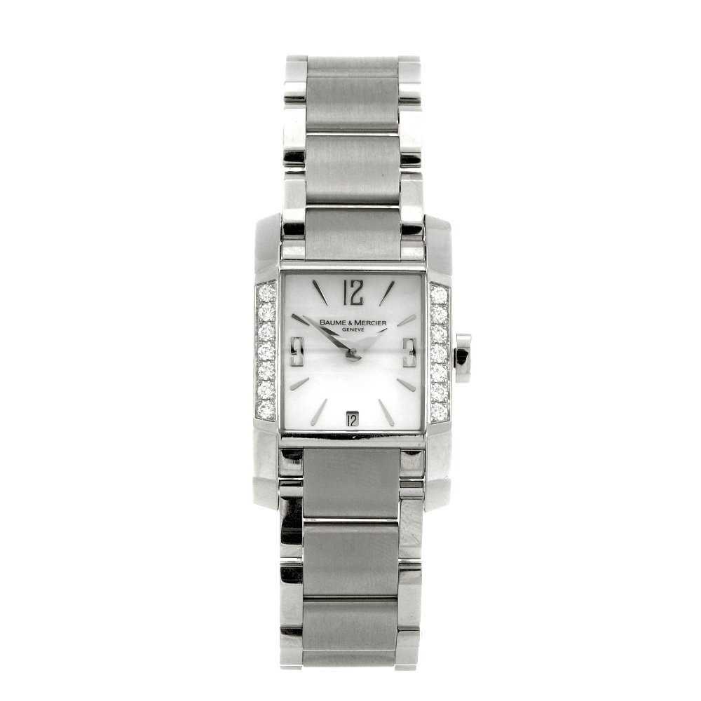 2: A stainless steel quartz lady's Baume and Mercier Ha