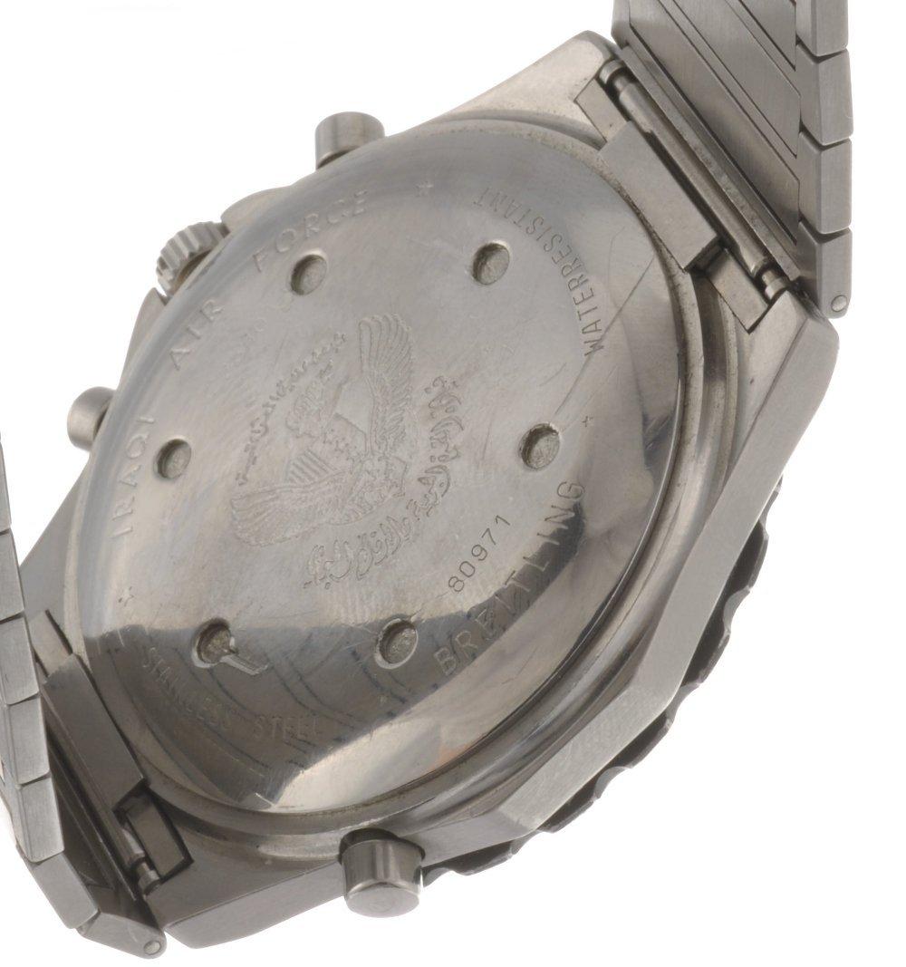9: (410019190) A stainless steel quartz gentleman's Bre - 2