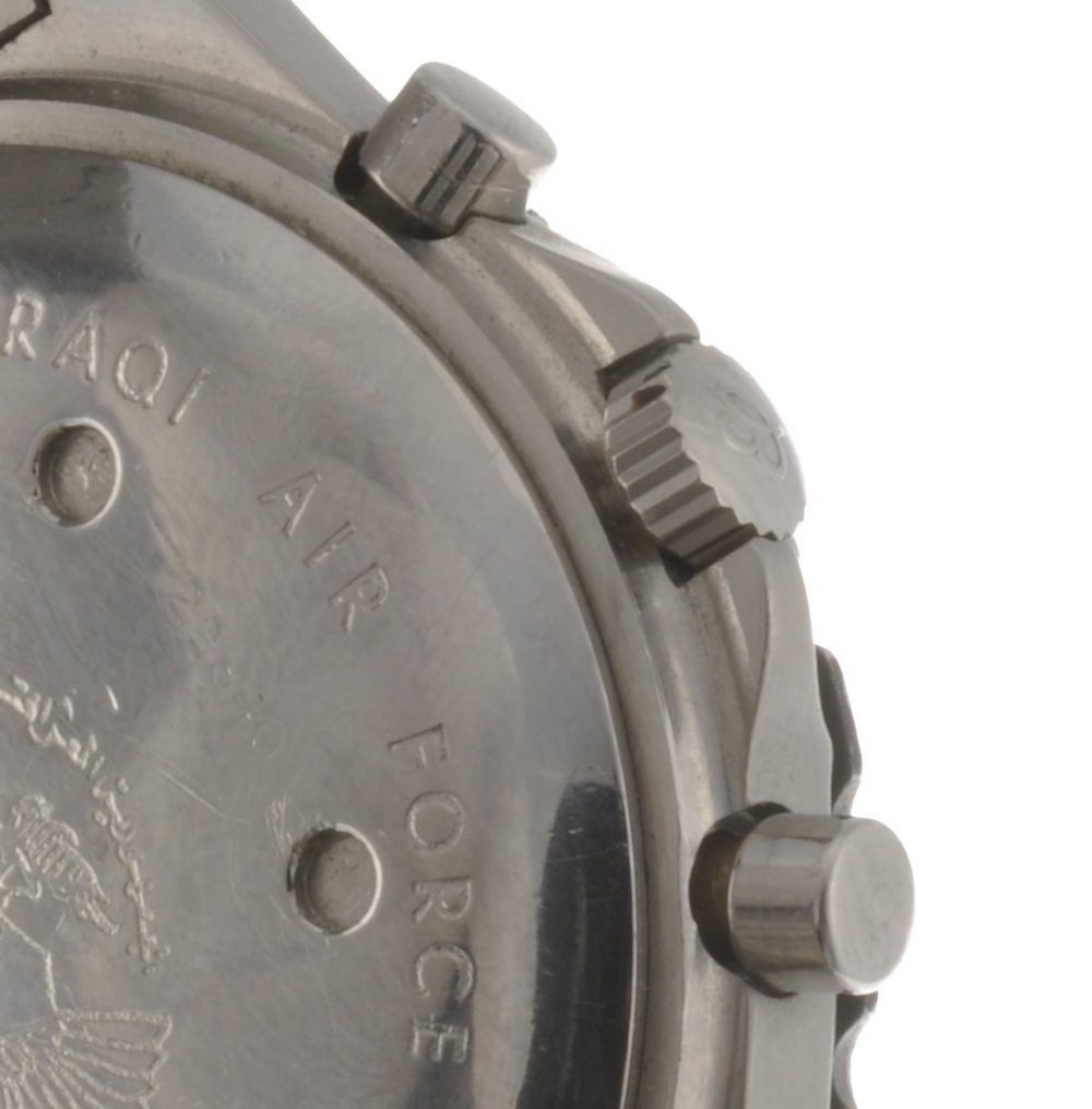 9: (410019190) A stainless steel quartz gentleman's Bre - 3