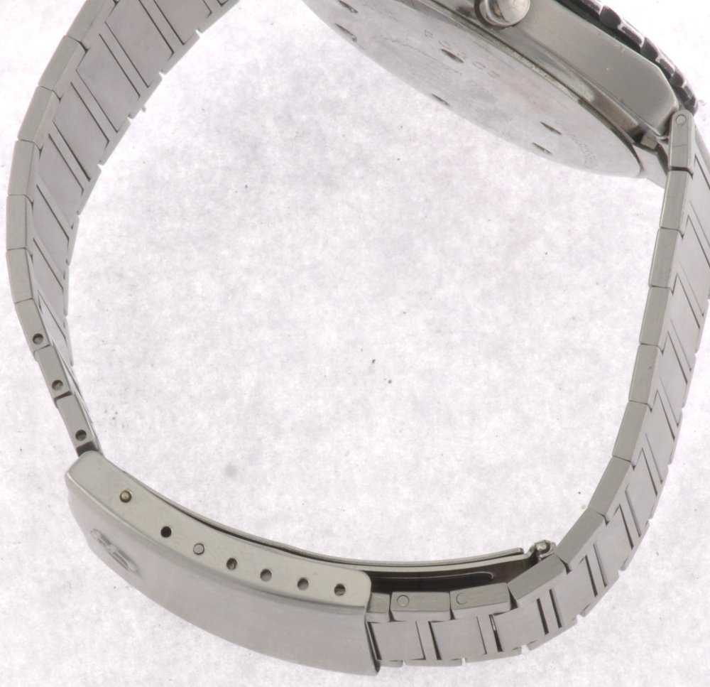 9: (410019190) A stainless steel quartz gentleman's Bre - 4