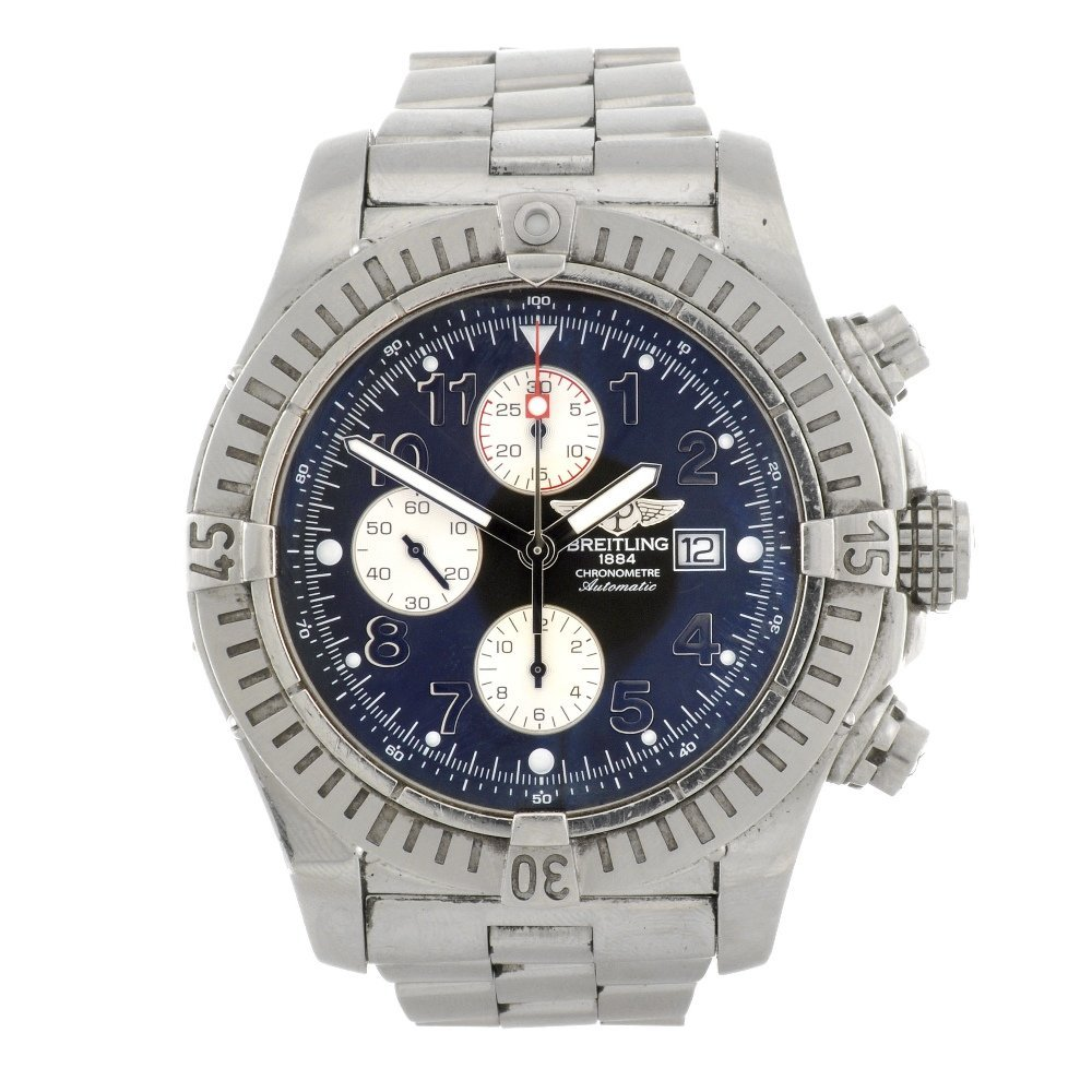 13: (107204987) A stainless steel automatic gentleman's