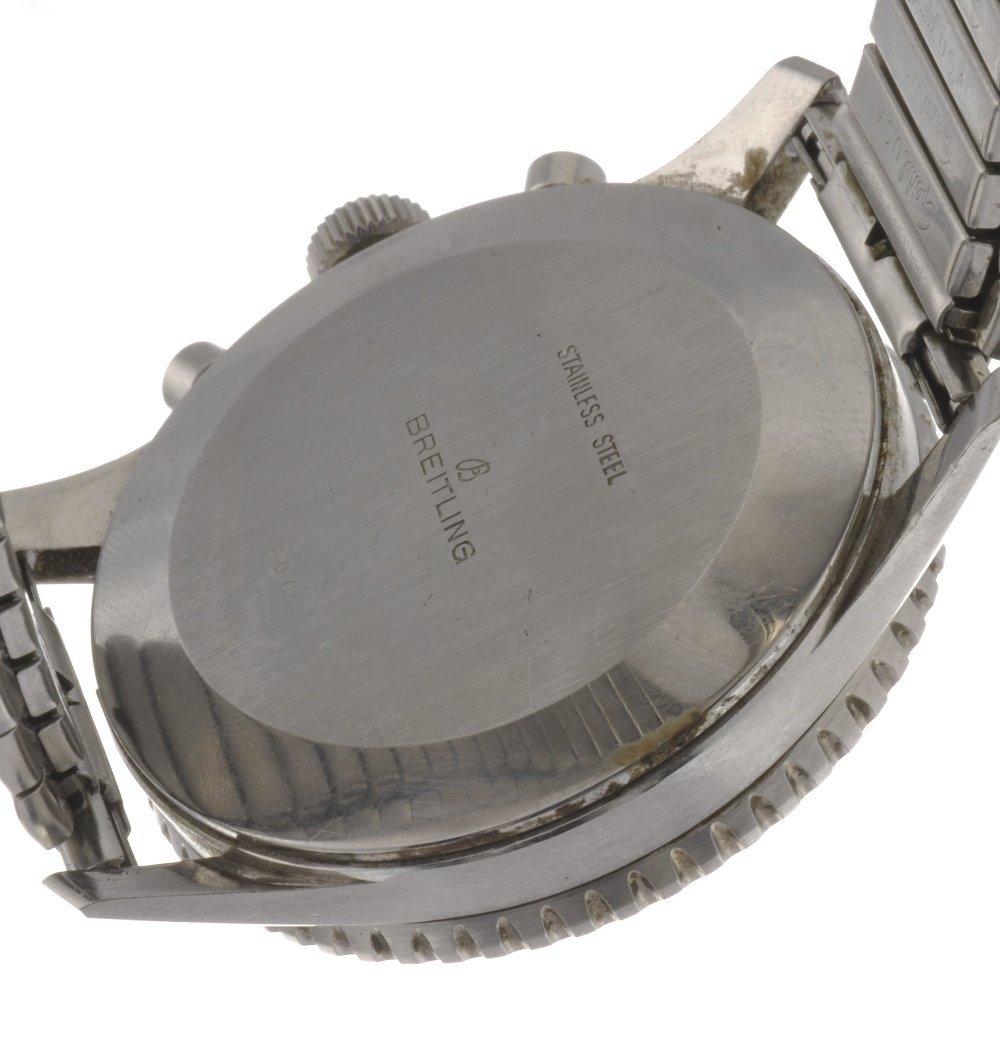 14: A stainless steel manual wind gentleman's Breitling - 2