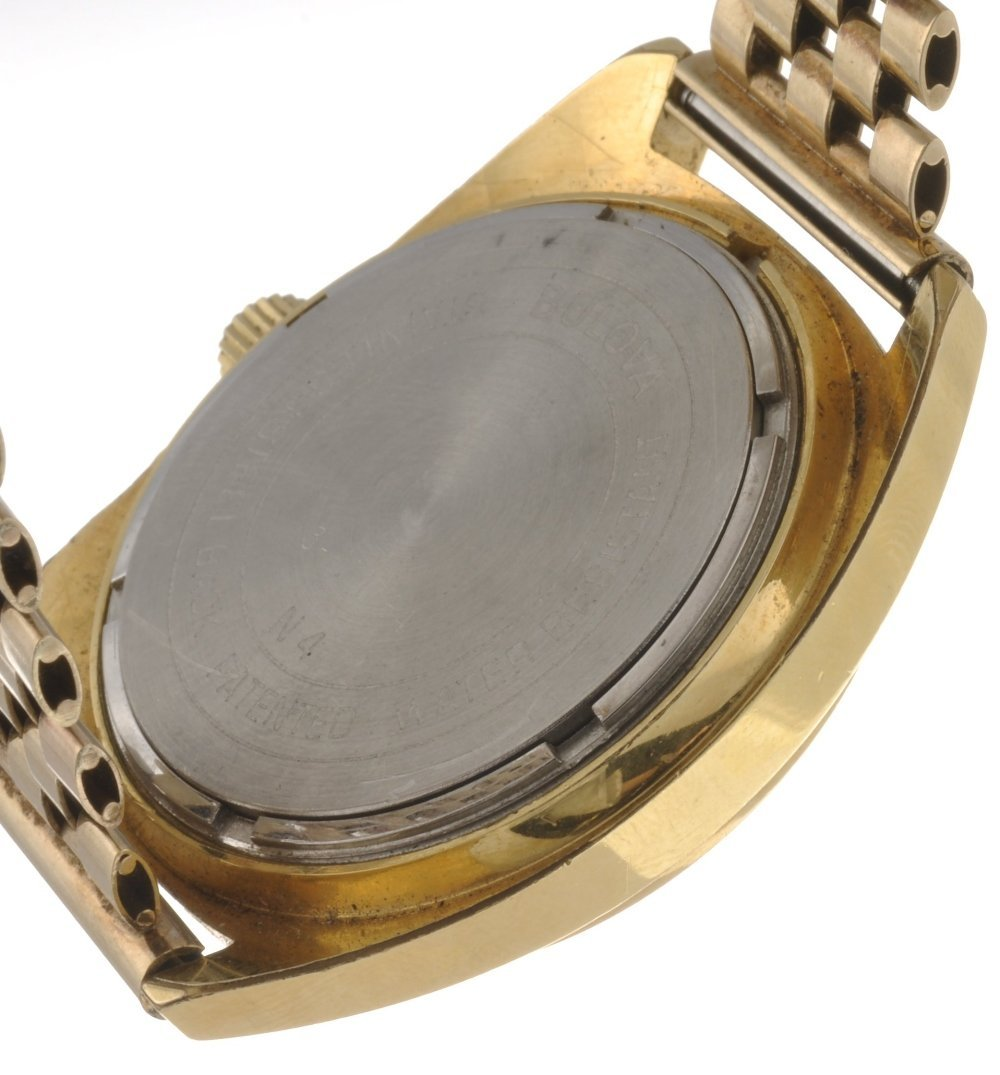 17: (043528) A gold plated electronic gentleman's Bulov - 2