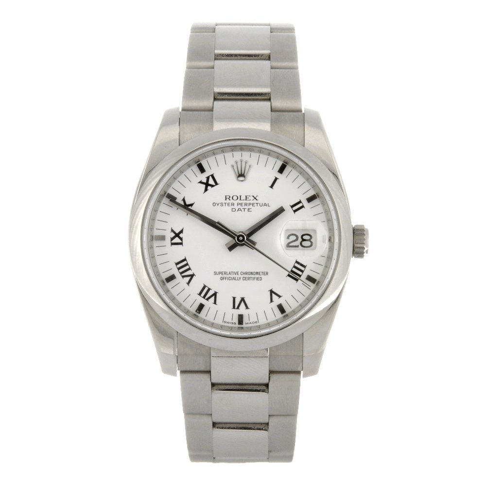 160: (40685) A stainless steel automatic gentleman's Ro