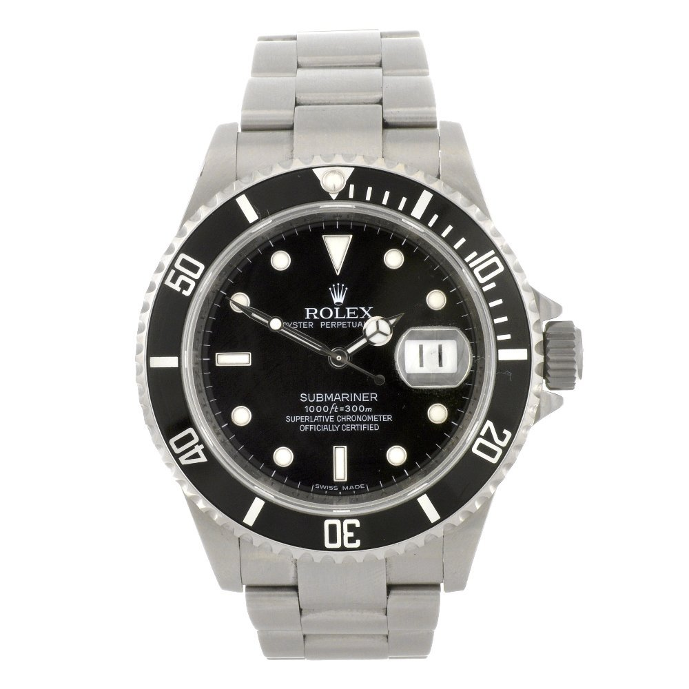 170: (902005051) A stainless steel automatic gentleman'