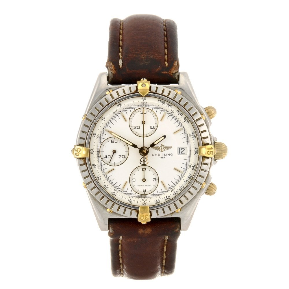 8: (116185964) A stainless steel automatic chronograph