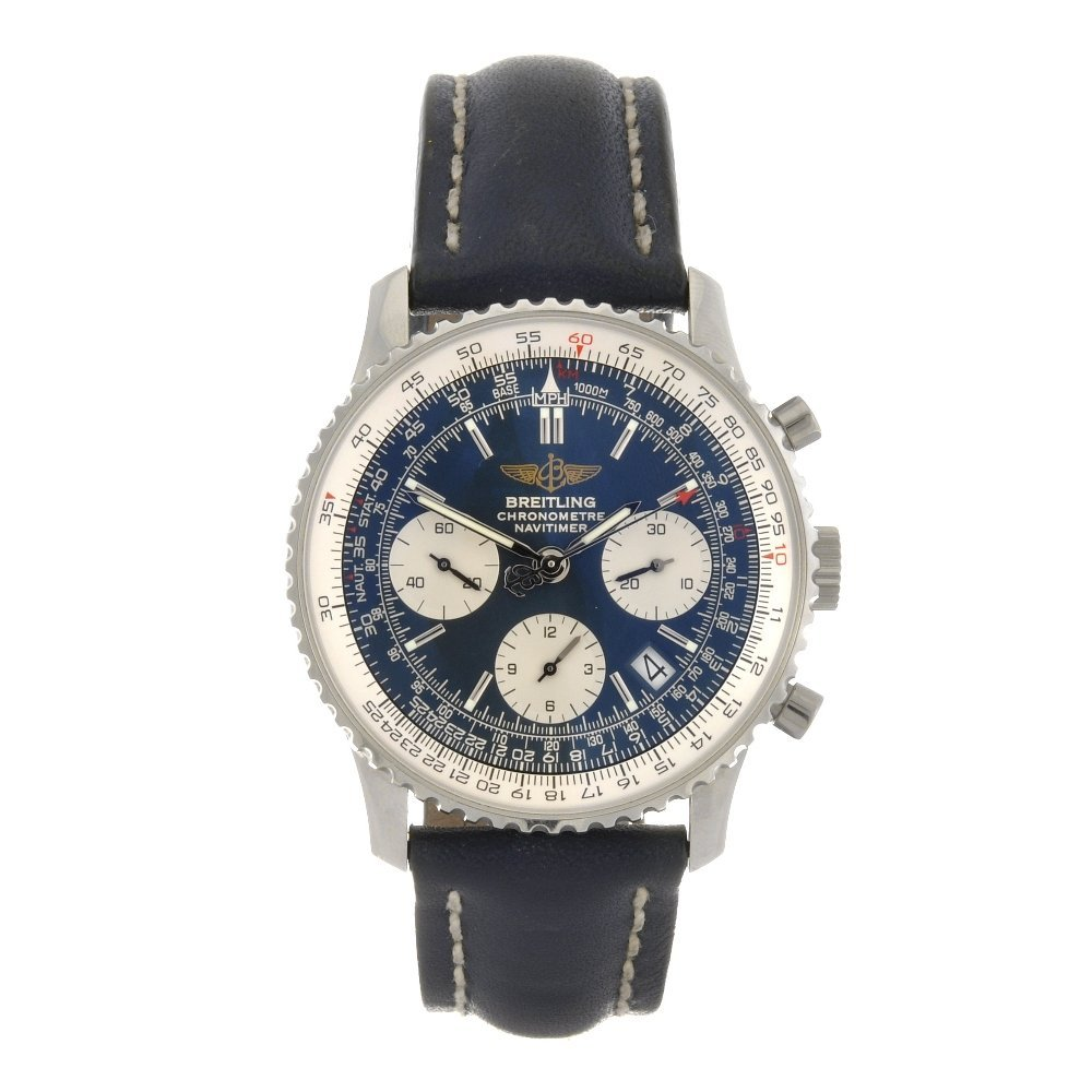 11: (89039) A stainless steel automatic gentleman's Bre
