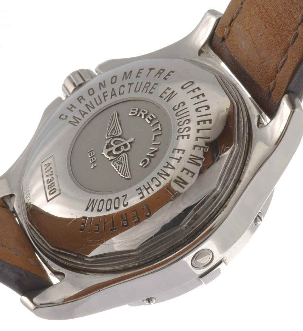 12: (121078775) A stainless steel automatic gentleman's - 2