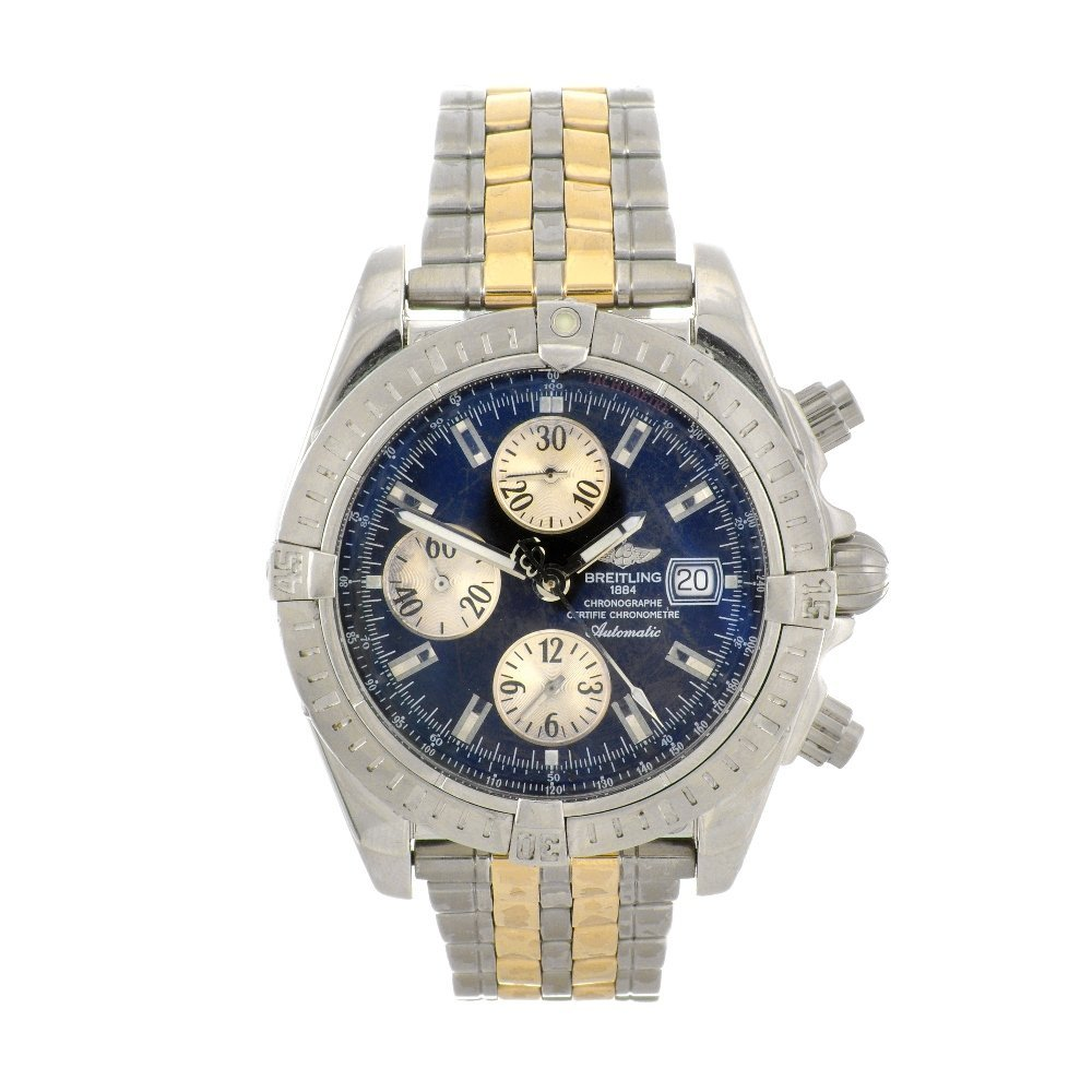 15: (946000140) A stainless steel automatic chronograph