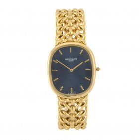 (121073151) An 18k Gold Automatic Gentleman's Pate