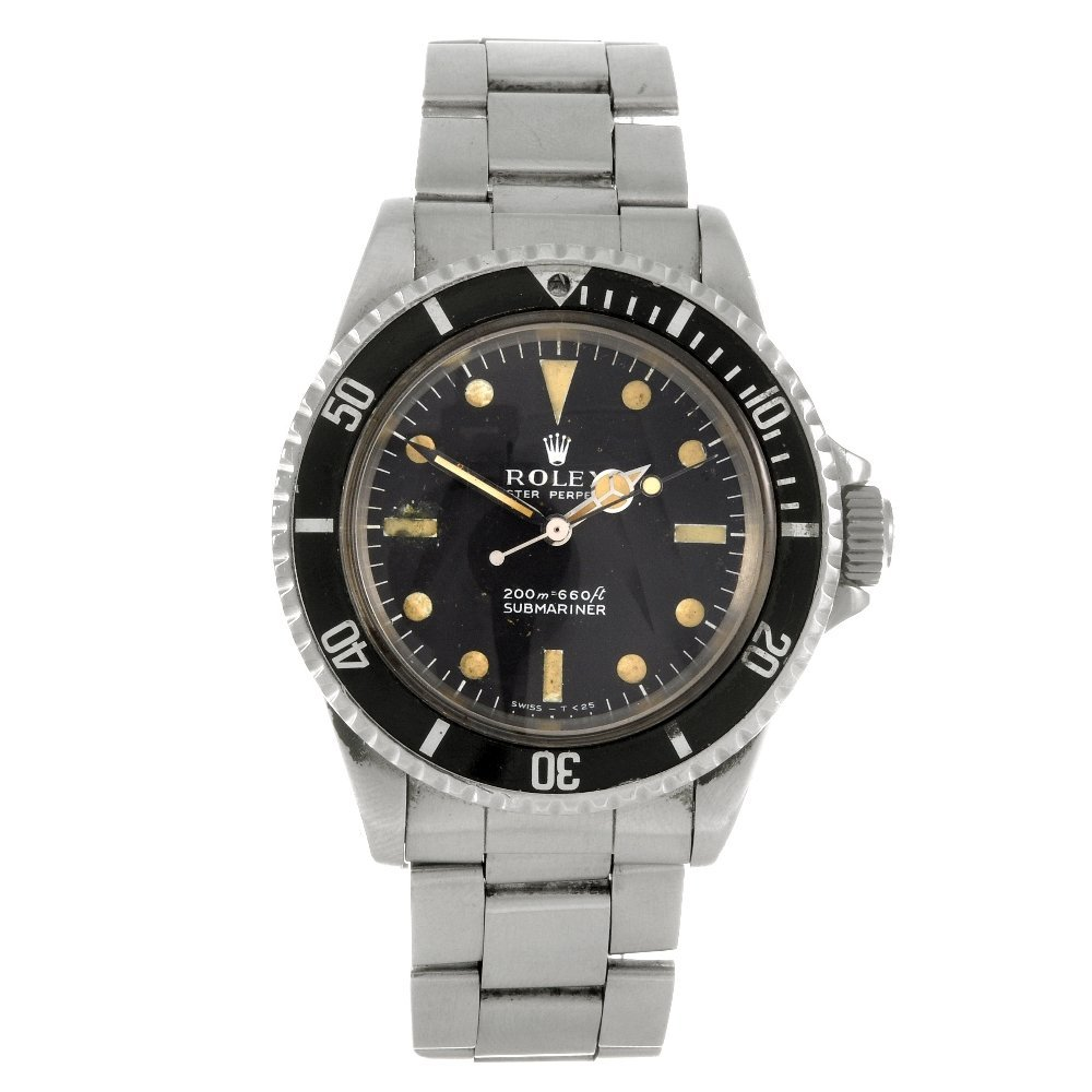 130: A stainless steel automatic gentleman's Rolex Subm