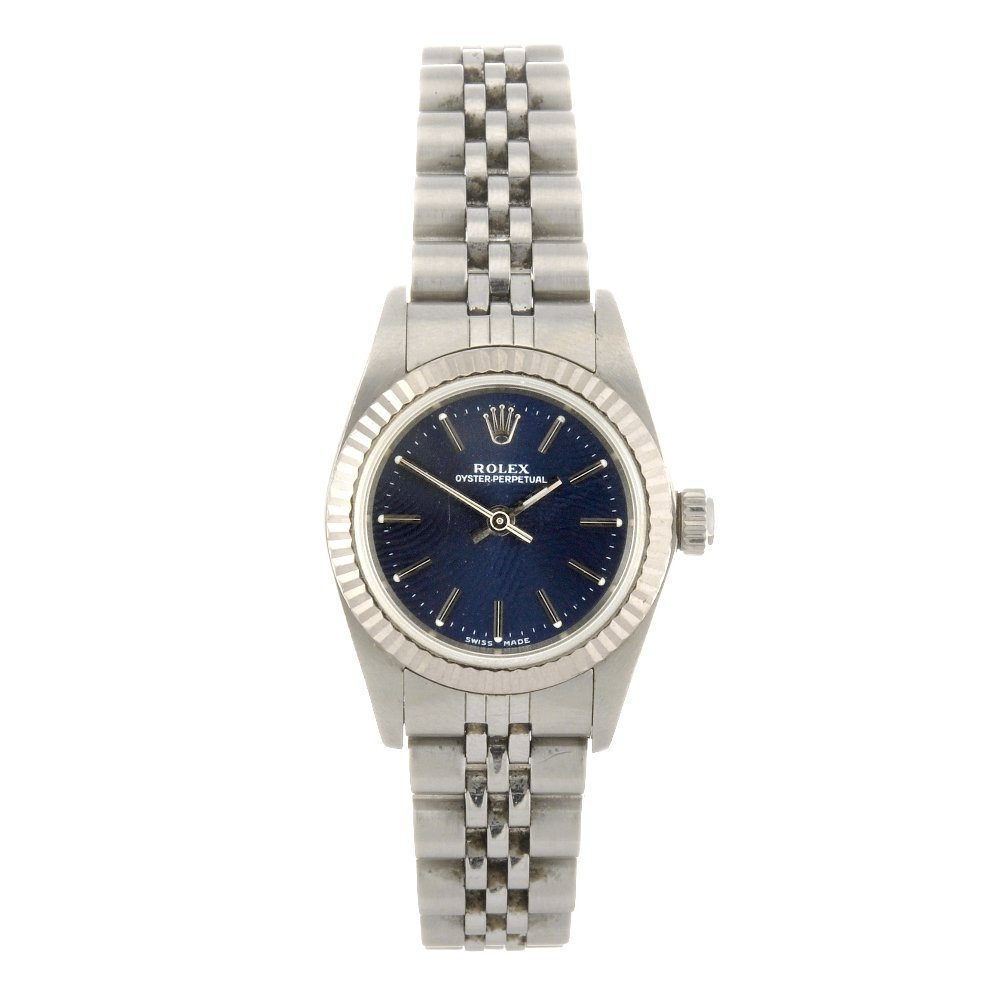 134: (116185301) A stainless steel automatic lady's Rol