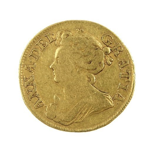 3: Anne, Guinea 1711.