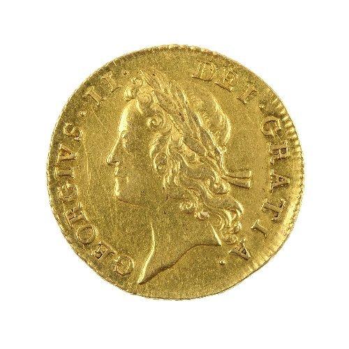 5: George II Guinea 1733.