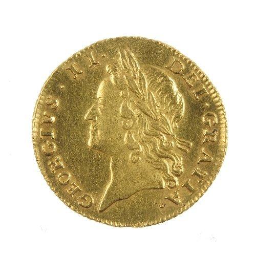 6: George II Half-Guinea 1738.