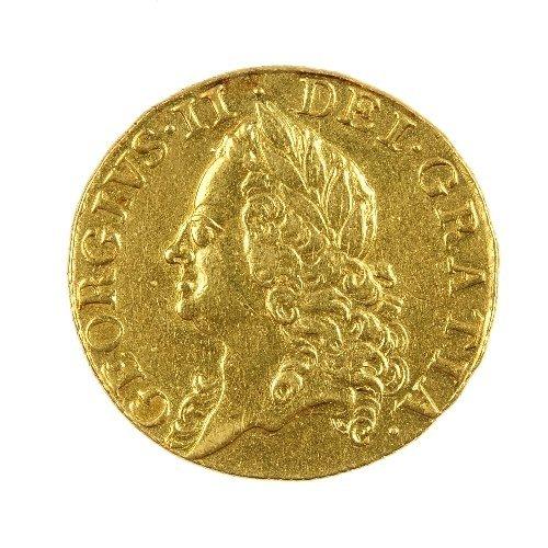 8: George II Guinea 1756.