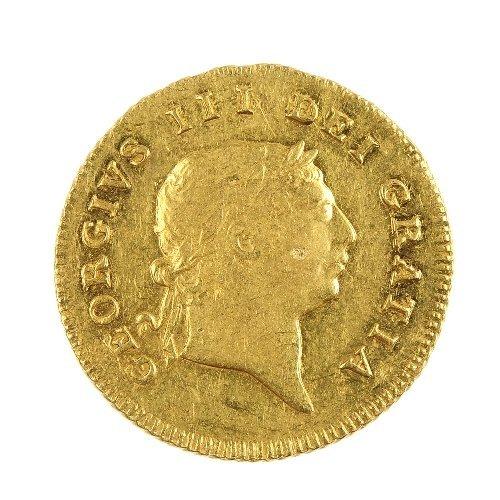 9: George III Half-Guinea 1806.