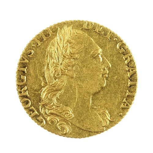11: George III Guinea 1774.